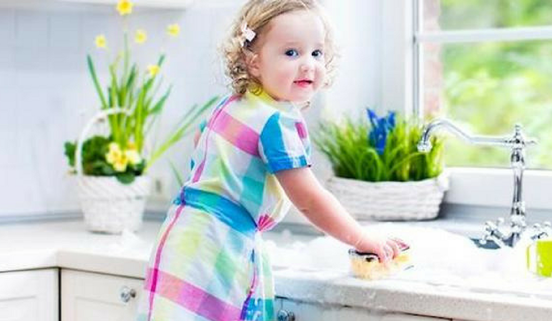 Spring Cleaning with Your Child